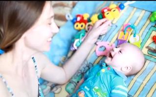 Во сколько месяцев ребёнок говорит «агу»?