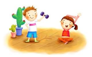 Зарядка для детей 2-3 лет