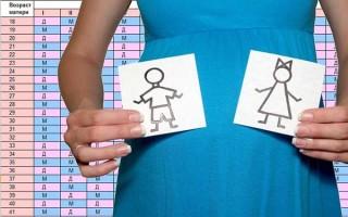 Как определить пол ребенка по дате зачатия и возрасту в утробе: калькулятор