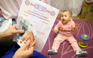 Дают ли деньги за первого ребенка?