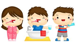 Сколько минут нужно чистить зубы детям?