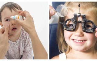 Ребенок часто моргает глазами: причины и лечение
