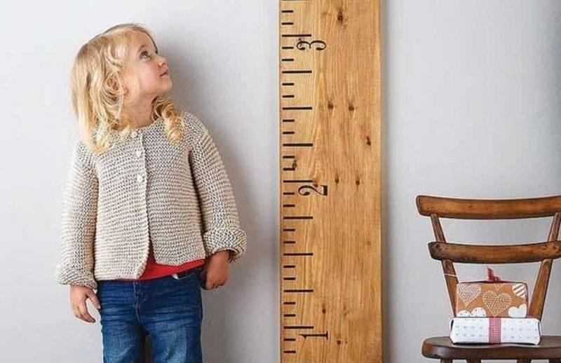 Рост девочки в 5 лет: норма.