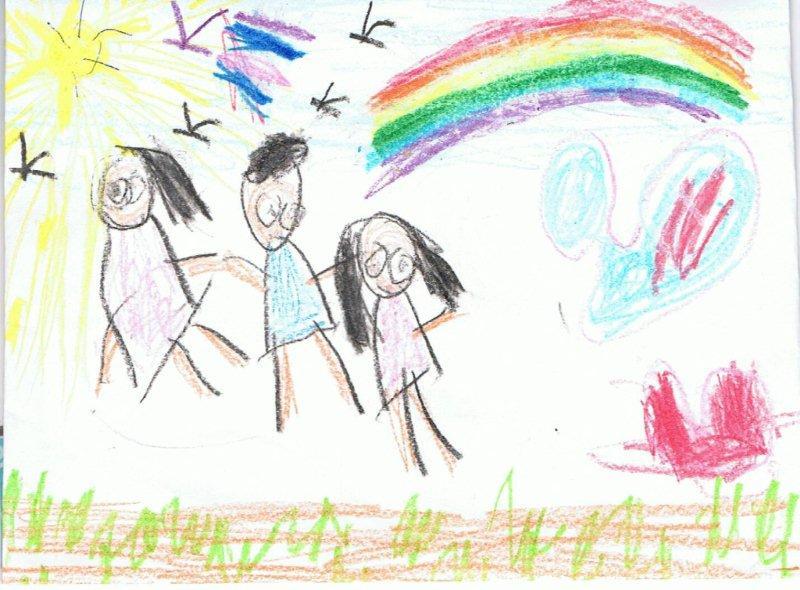 Развитие ребенка в 4 года: рисование.