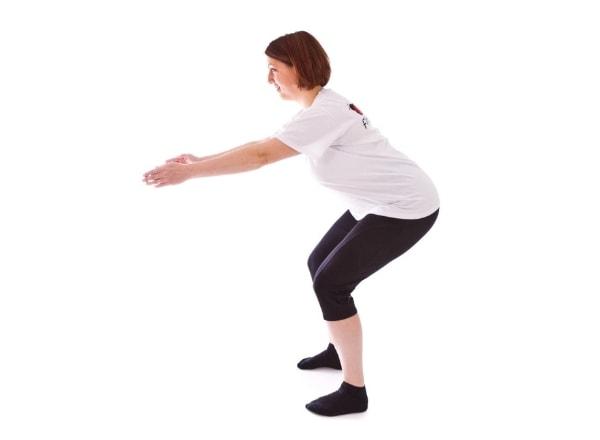 Упражнения после кесарева сечения.