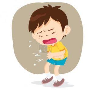 Болит живот у ребёнка в 3 года.