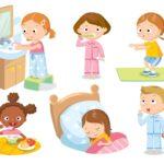 Режим дня ребёнка в 2-3 года