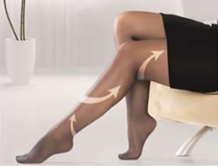Компрессионные чулки 2 класса для женщин: как выбрать размер?