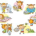 Режим дня ребёнка 5 лет