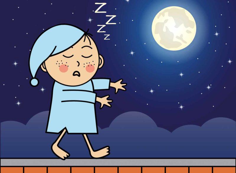 Причины и лечение лунатизма у детей