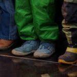 Длина стопы и размер обуви ребенка