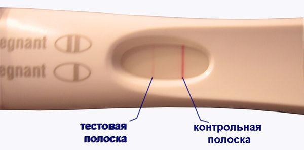 Что значит бледная вторая полоска в тесте на беременность?