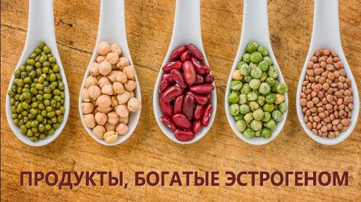 В каких продуктах содержится эстроген для женщин?